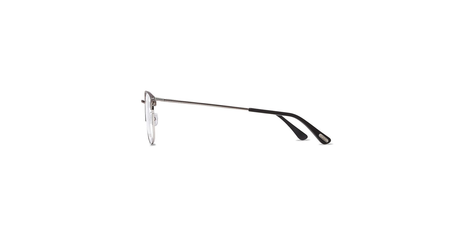 Modische Herren-Korrektionsbrille aus Metall, Tom Ford, TF 5453